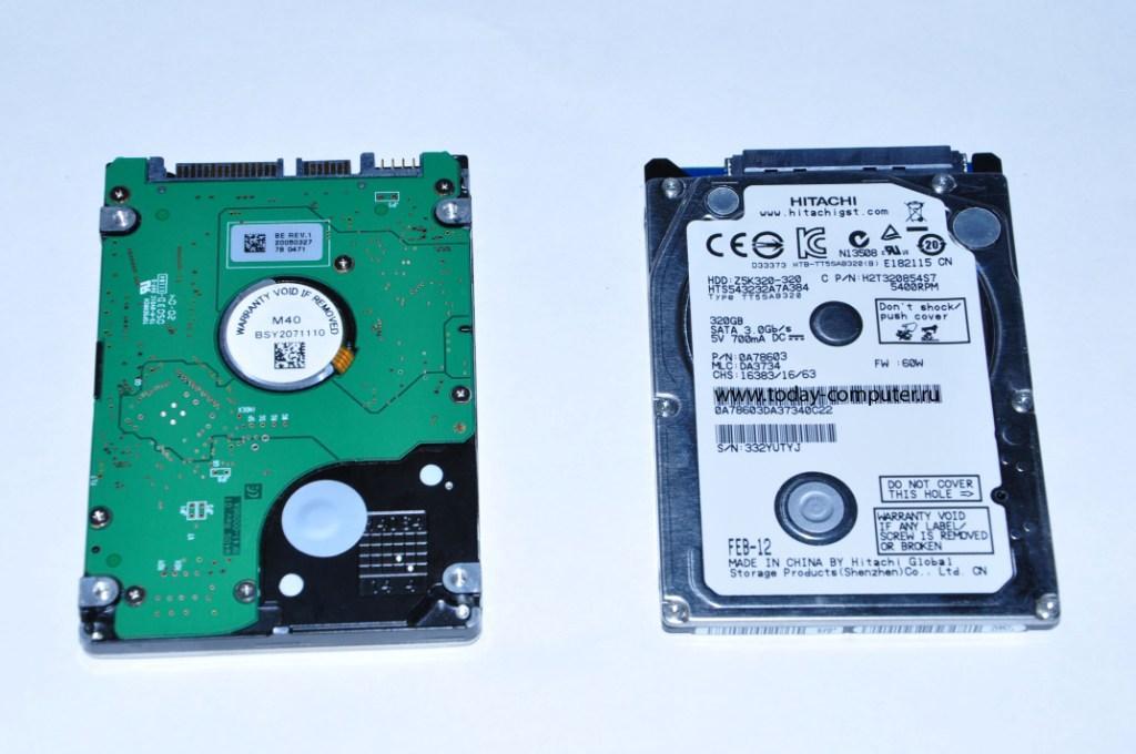 ремонт ноутбуков - ремонт жесткого диска