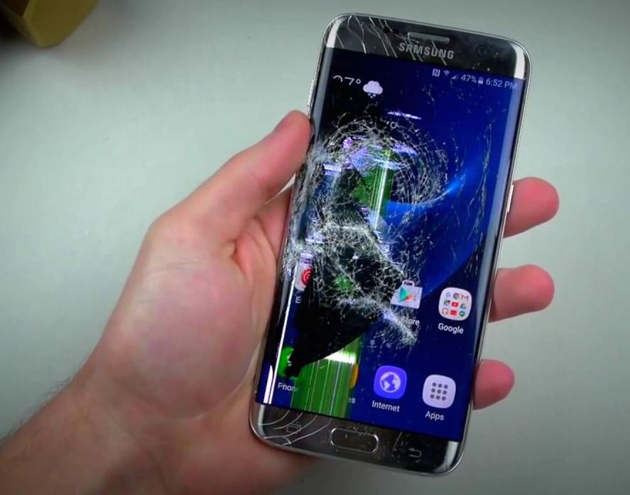 продать телефон с разбитым экраном