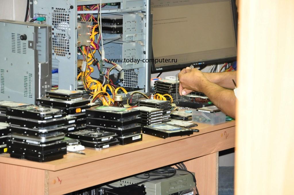 ремонт ноутбука - замена жесткого диска