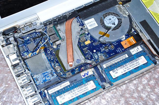 типовой ремонт ноутбука