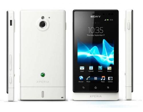 Sony Experia Sola White